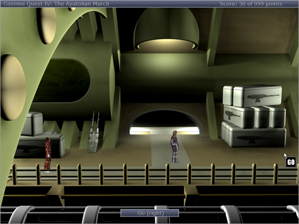 Cosmos Quest IV: Trade Depot (upper level)